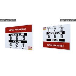 Tableau de Score manuel MODELE COMPACT RECTO VERSO 80x60