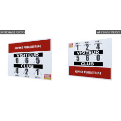 DOUBLE SIDED Scorekeeper COMPACT MODEL