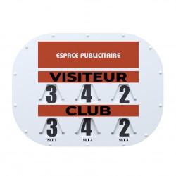 Tableau de Score manuel MODELE CLIPTEC 80x60