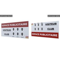 Tableau de Score manuel GRAND MODELE RECTO/VERSO 120x60